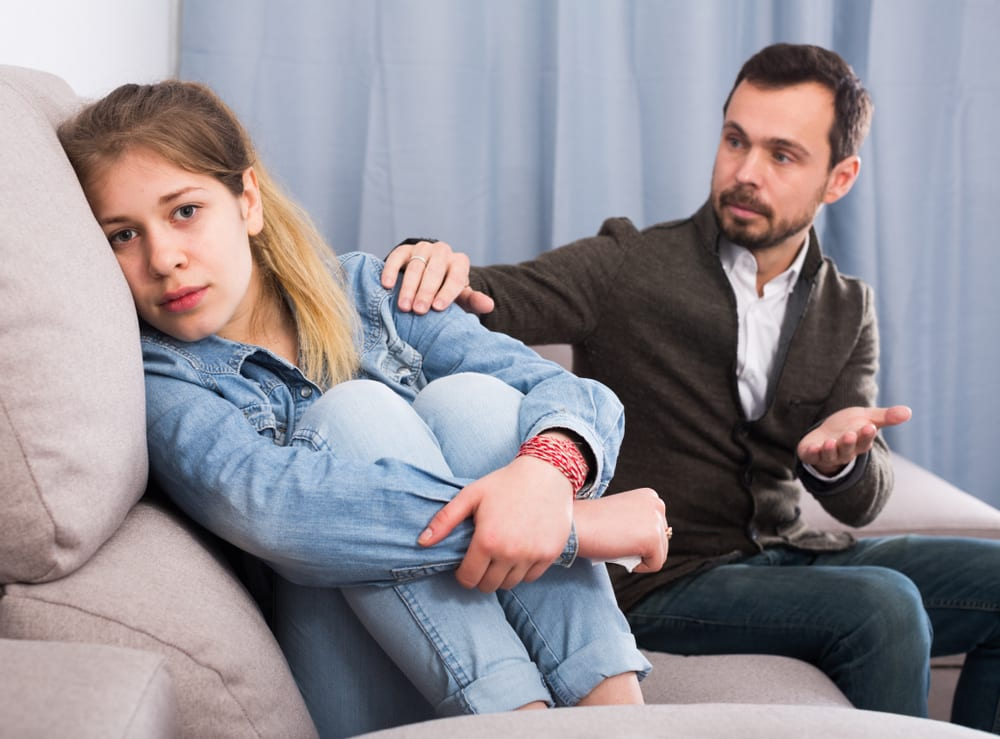 Parents often put themselves last when caring for someone with an eating disorder but they need to take care of themselves.