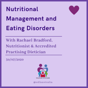 Nutritional Management of Eating Disorders