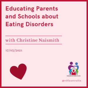 Educating Parents and schools about Eating Disorders