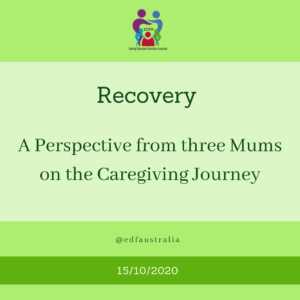 A perspective on ED recovery from three Mums