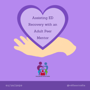 Assisting ED Recovery with an adult peer mentor