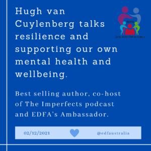 Hugh van Cuylenberg webinar for Eating Disorders Families Australia