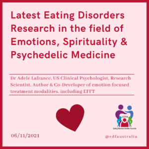 Latest Eating Disorder Research