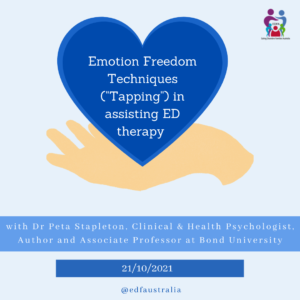 Emotion Focused therapy for eating disorders