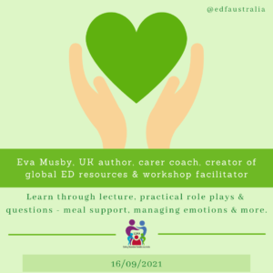 Eva Musby Webinar for Eating Disorders Families Australia