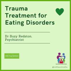 Trauma treatment for eating disorders