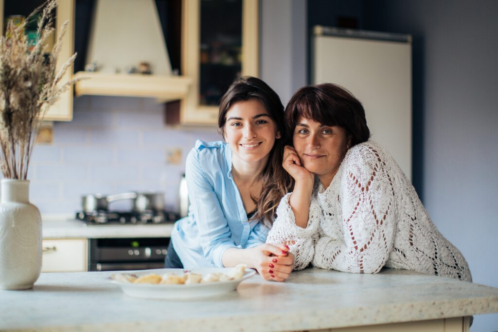 mother and daughter recovered eating disorder